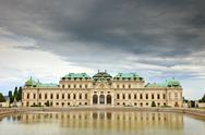 Stock Photo of The Belvedere palace, Vienna