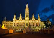 Stock Photo of Town hall in Vienna
