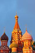 Saint Basil's cathedral - stock photo