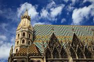 Stock Photo of St. Stephan cathedral in Vienna