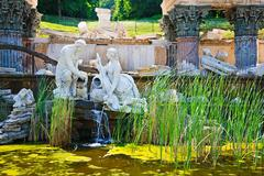 Fountain in Schonbrunn, Vienna Stock Photos