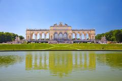 Gloriette, Schonbrunn Palace, Vienna - stock photo