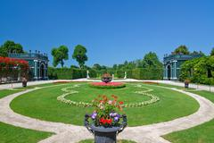 Stock Photo of Beatiful park in Schonbrunn, Vienna