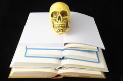 empty book - stock photo