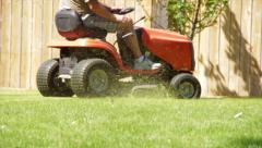 Riding Mower 2 Stock Footage