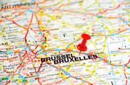 Stock Photo of bruxelles pin