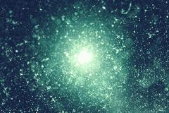 Stock Illustration of beautiful line background with the particles