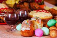 Stock Photo of Easter meal