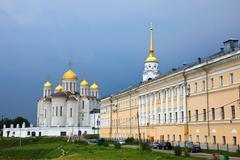 Assumption cathedral  at Vladimir - stock photo