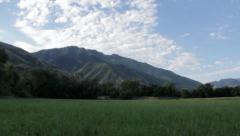 Mountain Field 2 Stock Footage
