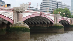Blackfriars Bridge - London Stock Footage