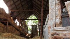 Barn Entrance Stock Footage