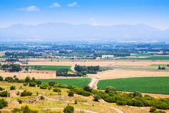 Rural view of Alt Emporda comarca - stock photo