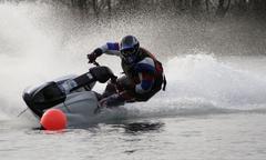 Jet ski race Stock Photos