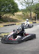 Kart racing Stock Photos