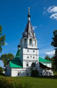 Church of the Intercession in   Aleksandrov, Russia Stock Photos