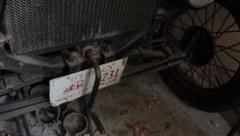Ford Model T Crank - stock footage