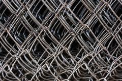Metal netting mesh Stock Photos