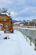 Spa resort Bad Ischl - Austria - stock photo