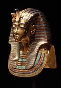 Tutankhamun's Burial Mask - stock photo