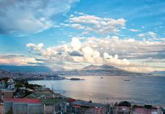 Naples daylight - stock photo