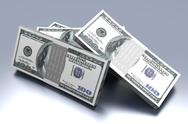 Stock Illustration of dollar bills