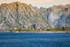 Lofoten islands norway Stock Photos