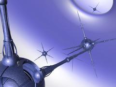 Nano tech Stock Illustration