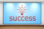 Stock Illustration of success