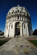 Battistero (Pisa) - stock photo