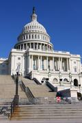 US Capitol - stock photo