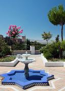 Andalusian noon, Granada - stock photo
