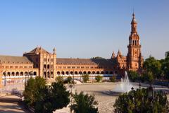 Plaza de Espana, Sevilla - stock photo