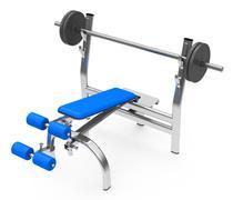 Strength training Stock Illustration