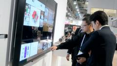 NAB Show exhibition in Las Vegas, USA - stock footage