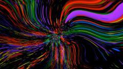 Liquid Light Pop Art Background - stock footage