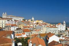 The capital of Portugal,Lisbon,Europe Stock Photos