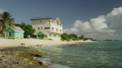 Grand Cayman, Tourist resort Stock Footage
