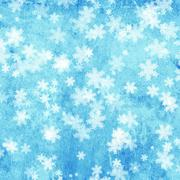 Stock Illustration of Christmas background with snowflakes