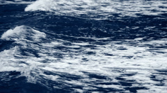 ocean waves white caps at large - stock footage