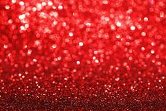 Red glitter background - stock photo