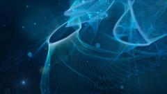 Flowing Abstract Motion Background Stock Footage