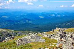 Altai mountains. Russia Stock Photos