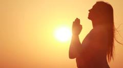 Prayer Stock Footage