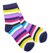 Colorful cotton socks Stock Photos