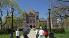 Queen's Park - Toronto Canada - HD 4k+ Stock Footage