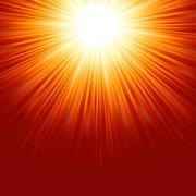 Abstract radiant star. EPS 8 Stock Illustration