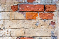 ancient masonry - stock photo