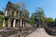 Preah khan temple, siem reap, cambodia Stock Photos