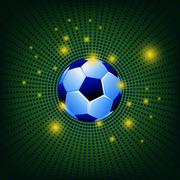 abstract dot trophy 2014 background - stock illustration